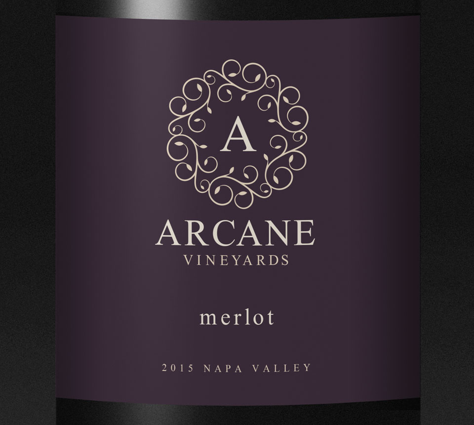 Arcane-Black-bottle-Label